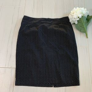 3/25 Lane Bryant Black Pencil Skirt Size 14